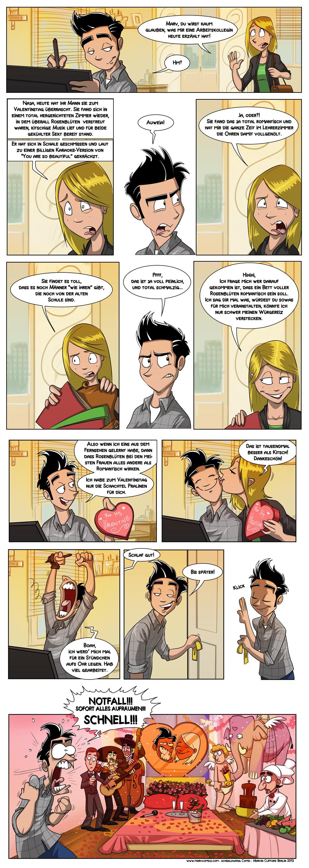 Valentinstag Marv Comics